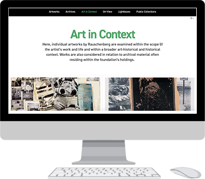 Art In Context section, after